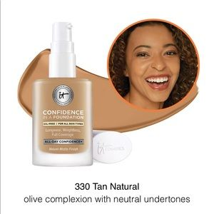 "IT Cosmetics ""Confidence in a Foundation"" Tan"